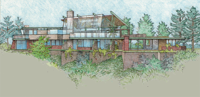 Rigler house rendering 1